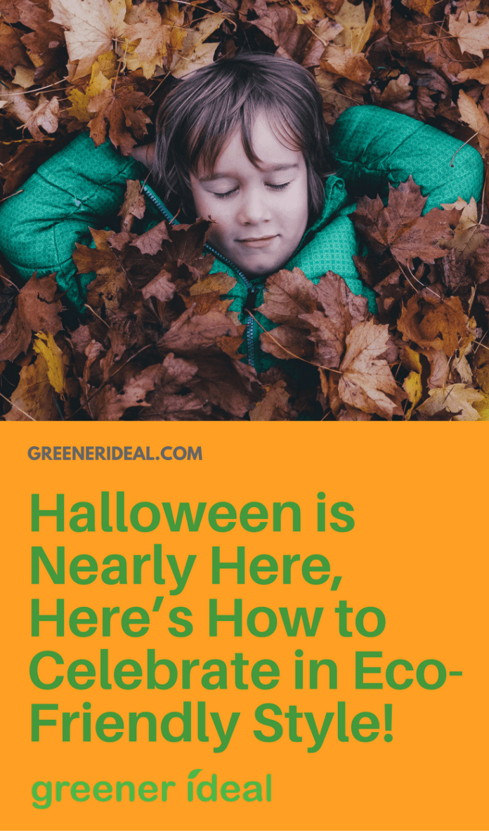 Halloween is almost here, and for those of you who plan on celebrating the spooky holiday, you've probably started putting together a few ideas for costumes, parties and treats. And while we only want you to have the best of fun on Halloween, it's not too late to consider a few greener alternatives.