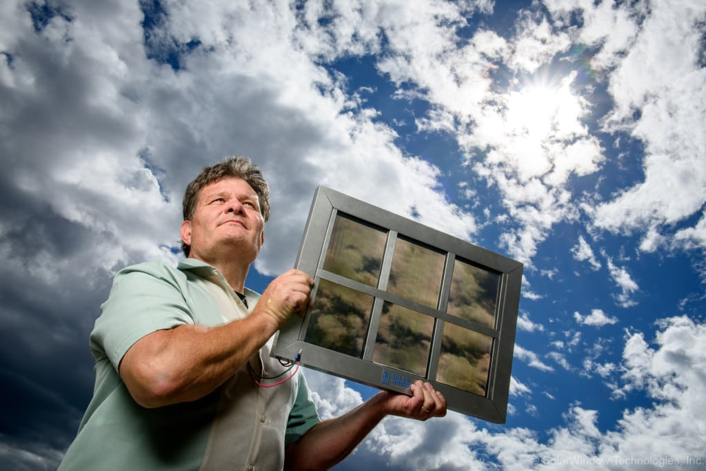 solar glass now allows large scale building