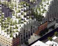 Ziggurat style sustainable architecture in Toronto by Bjarke Ingels