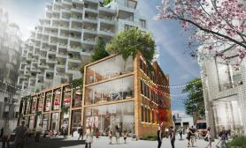 Toronto King West green architecture design by Bjarke Ingels
