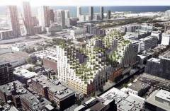 Bjarke Ingels sustainable architecture project in Toronto