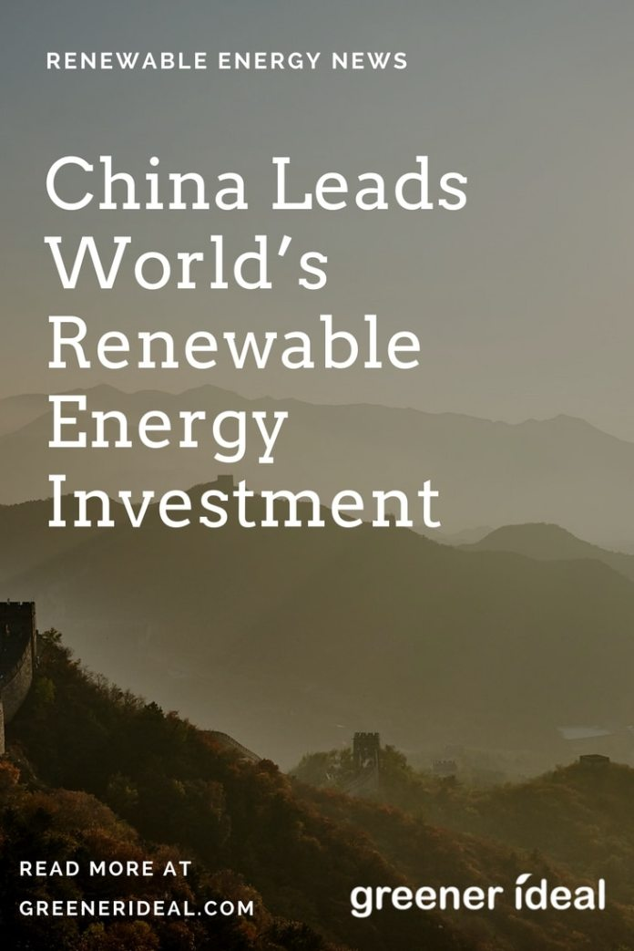 As the United States dropped out of the Paris climate accord, China has become the global trendsetter in renewable energy.