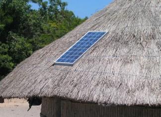 solar panel in Africa
