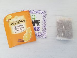 Individually wrapped tea