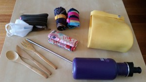 Reusable items for travelling