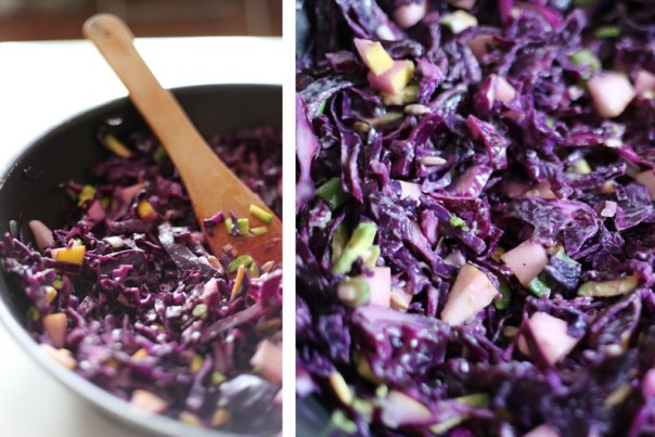 Green Evi - Warm Cabbage Salad