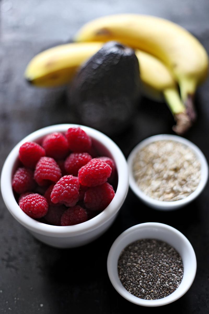 Quick Raspberry Breakfast Bowl