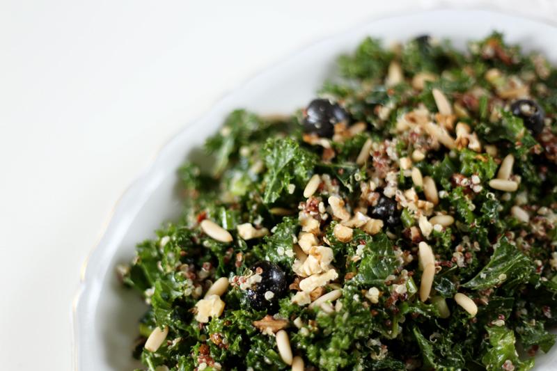 Massaged Kale Salad with Quinoa