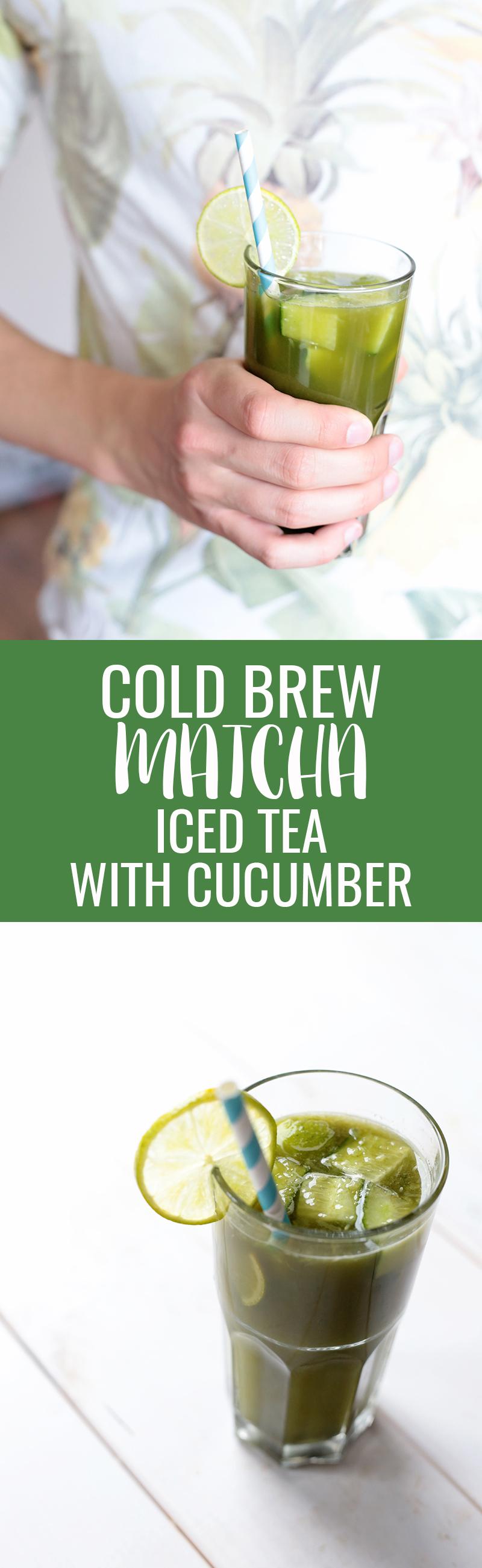 Matcha Iced Tea