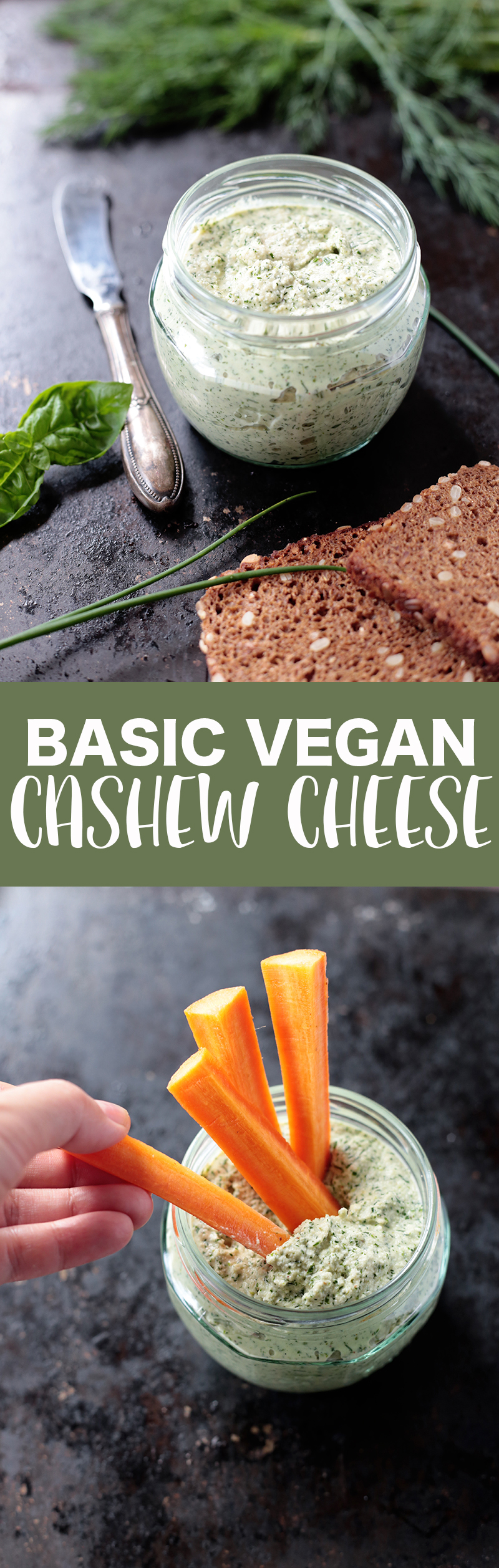 Basic Vegan Cashew Cheese