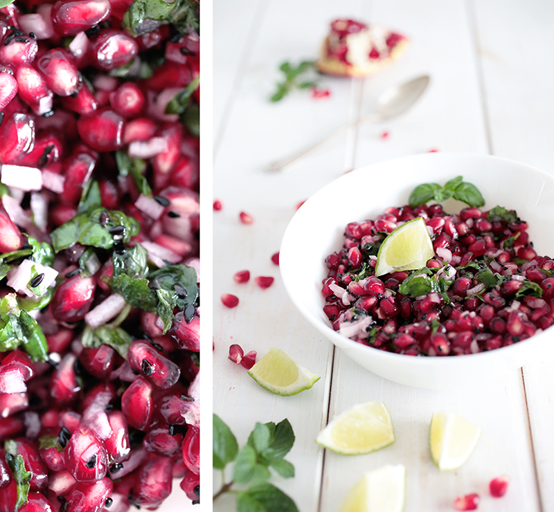 Pomegranate and Mint Relish