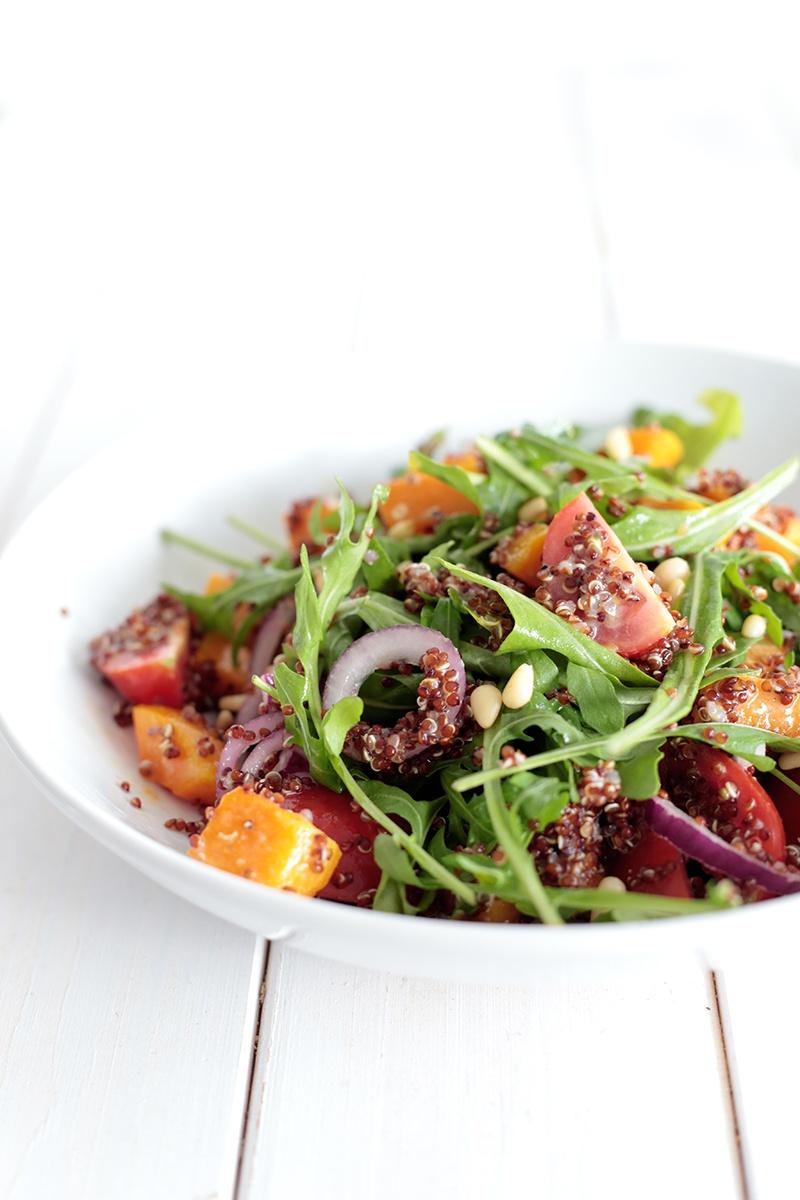 Butternut Squash and Quinoa Mason Jar Salad