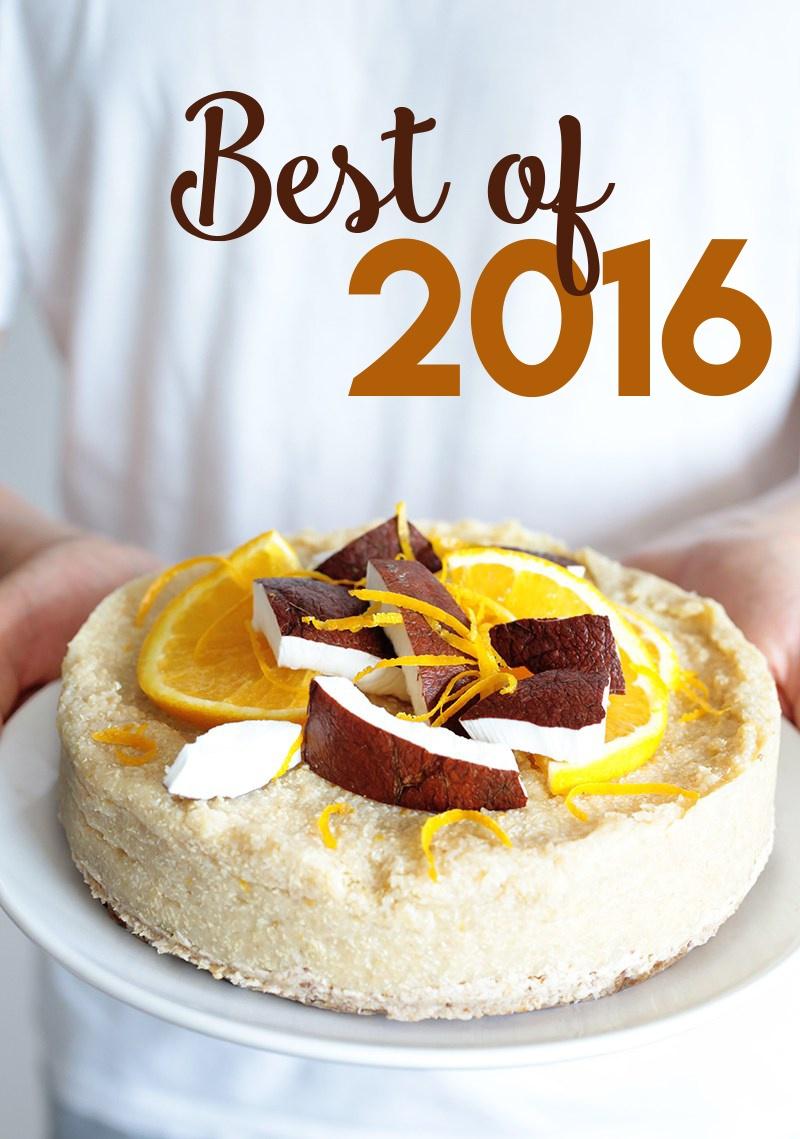 Top 10 Vegan Recipes of 2016 • Green Evi
