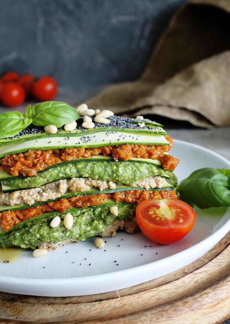 Raw Vegan Lasagne Green Evi