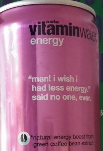 vitaminwater energy drink
