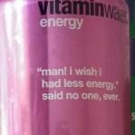 vitaminwater energy drink