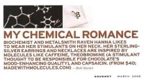 Chemical Jewelry [Molecular Muse Etsy Shop]