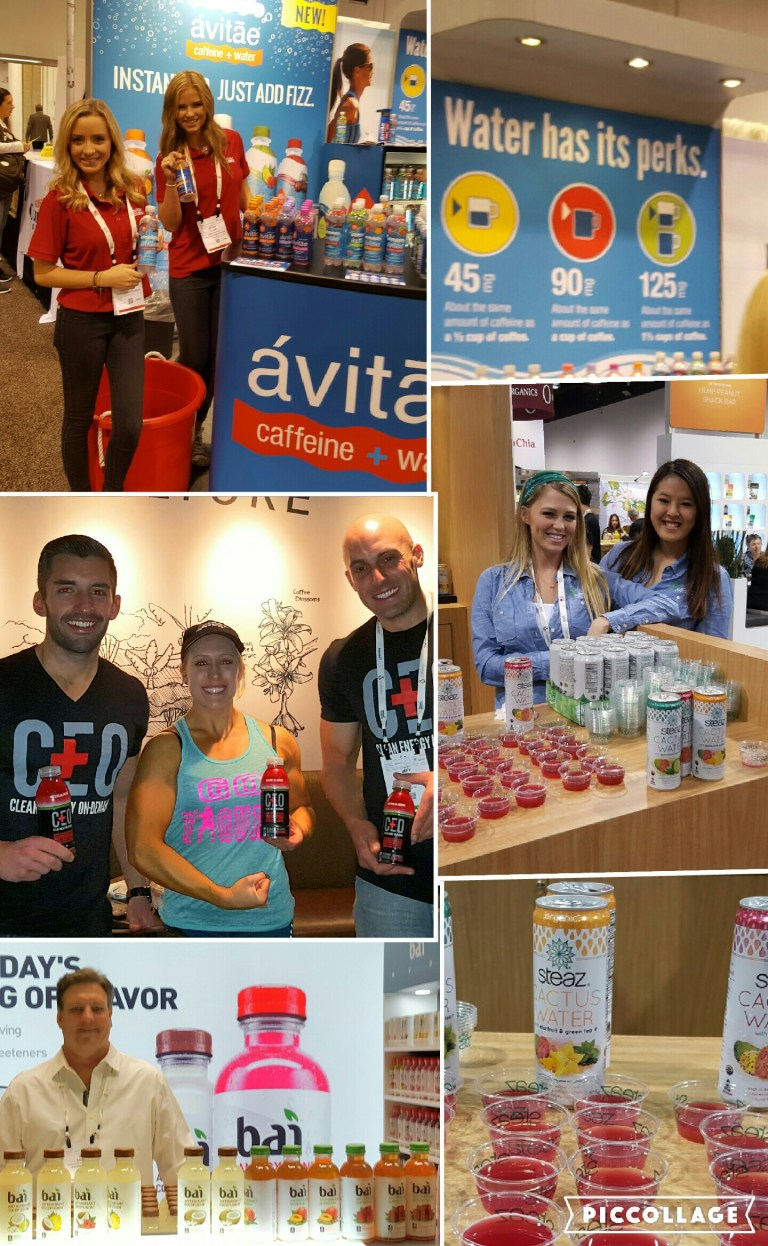 natural product expo caffeinated functoinal beverages greeneyedguide