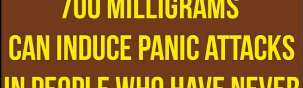 Caffeine and Panic Attacks – Book Excerpt of the Week