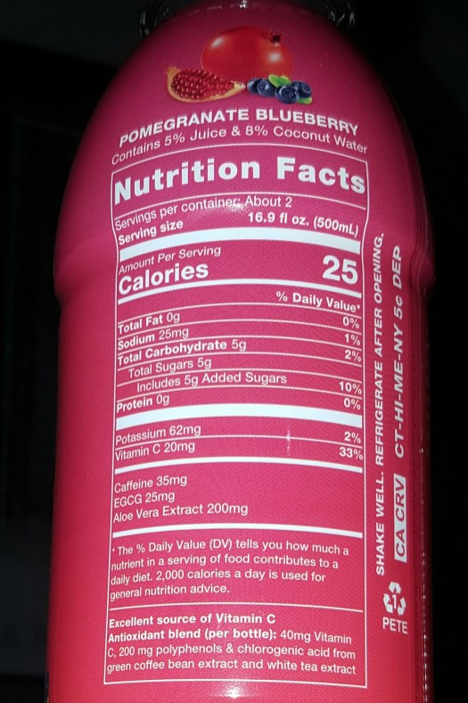 Main Squeeze Nutrition Facts - GreenEyedGuide.com