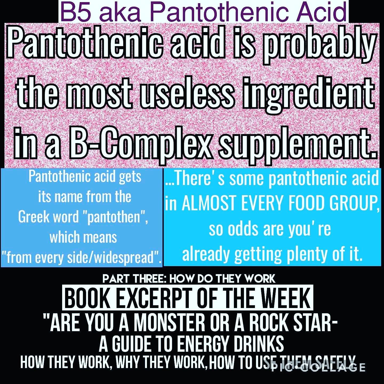 GreenEyedGuide | pantothenic acid