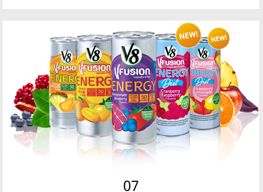 Is V8 Really an Energy Drink? A Primer on the Science of Energy Drinks in Disguise [GreenEyedGuide on ScienceMeetsFood]