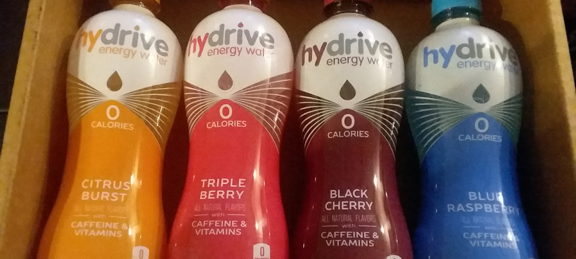 Hydrive Energy Water - Energy Drink of the Month Nov 2017