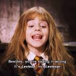 How to Say Leviosa