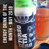 Energy drink of the month - May 2018