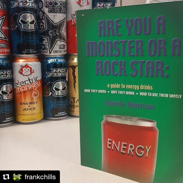 Energy Drink Book - fan photo Frank