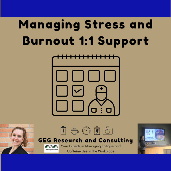 managing stress burnout support from GEG