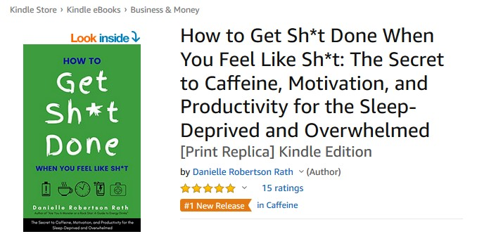 How to Get Sh*t Done Book on Amazon