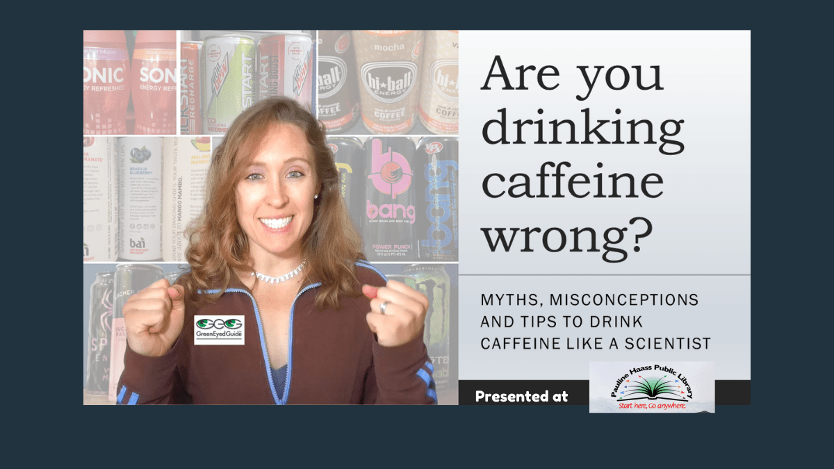 GEG Research and Consulting Presents: 5 secrets to drinking caffeine