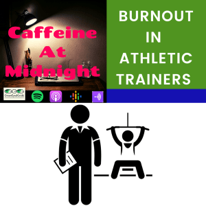 burnout in athletic trainers podcast cover