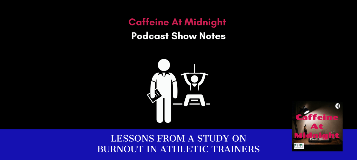 WP cover burnout in athletic trainers