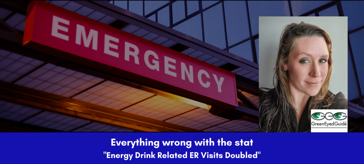 "The Trouble with the ""Energy Drink Related ER Visits"" Stat"
