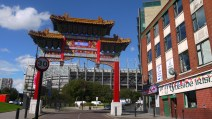 china town and stadium