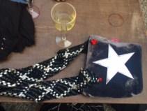star bag with handle