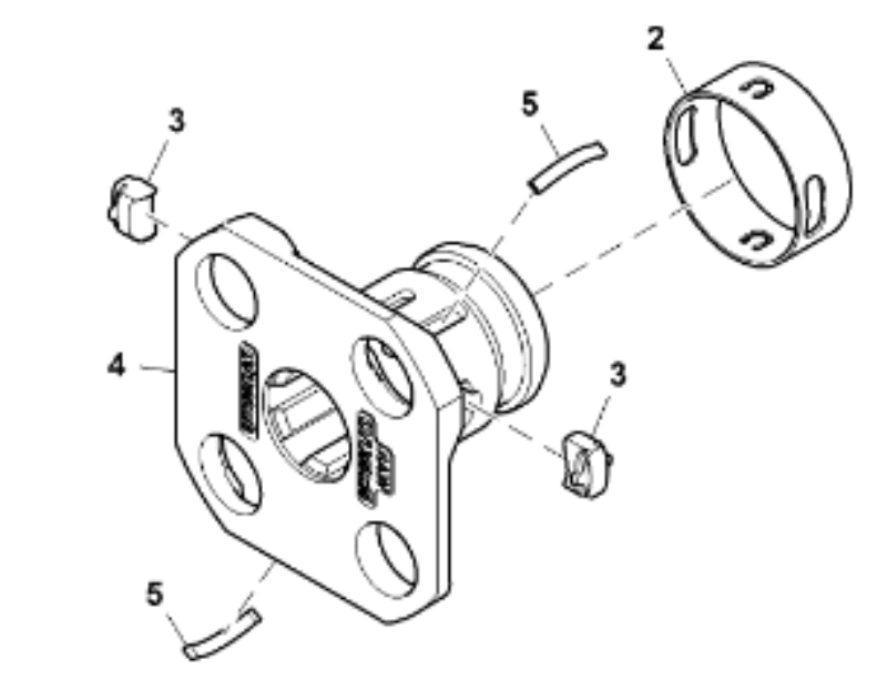John Deere Quik-Knect™ Tractor Receiver Kit BLV10953