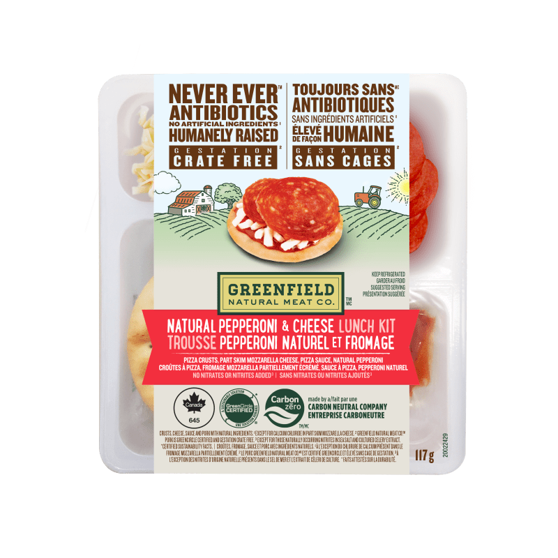 TROUSSE PEPPERONI NATUREL ET FROMAGE Greenfield