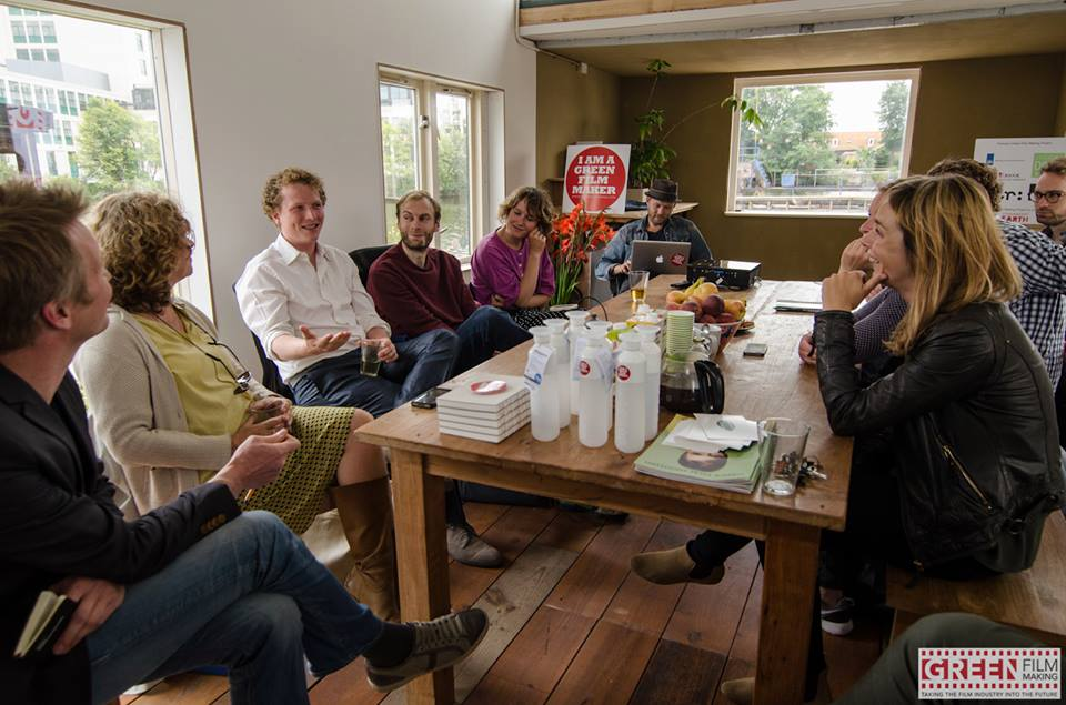 Progress meeting: KORT! filmmakers talk innovation and successful sustainability on their Dutch sets