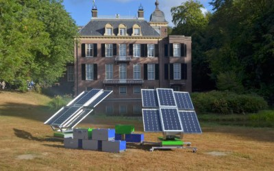 Sustainable generators: Volta Naos and The Green Generator