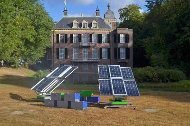 Sustainable generators: Volta Naos and The Green Generator