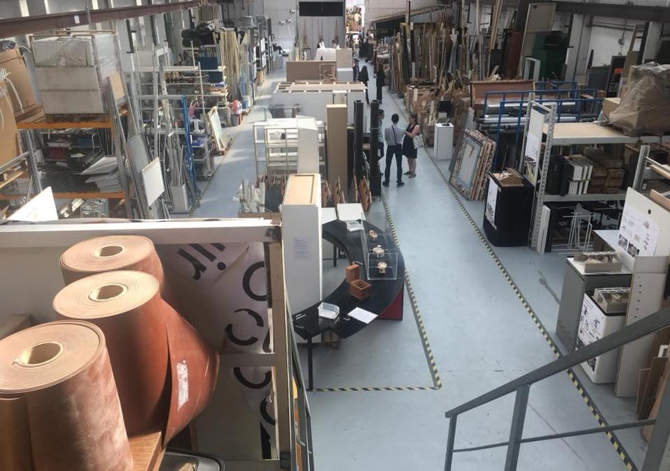 Recycle depot voor decor in Parijs bestaat 10 jaar