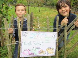 Our own forest school