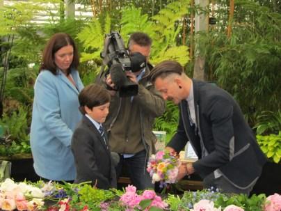 BBC News film me and Simon