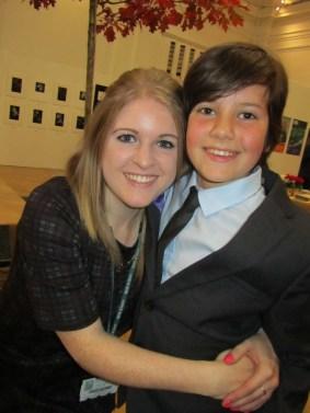 Me and Alana at my RHS Ambassador evening