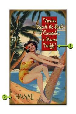 Climbing Wahine - Waikiki