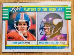 1990 John Elway Trading Card