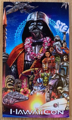 Darth Vader HawaiiCon 2018 trading card